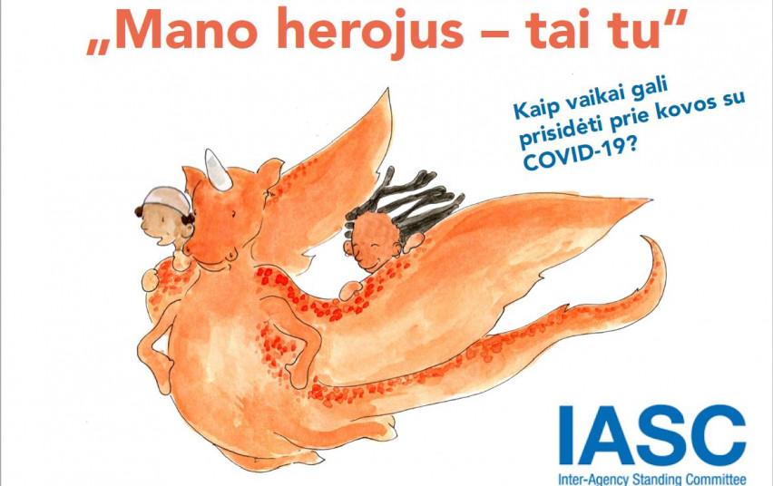 Gera žinia tėveliams ir pedagogams – knygelė vaikams apie koronavirusą