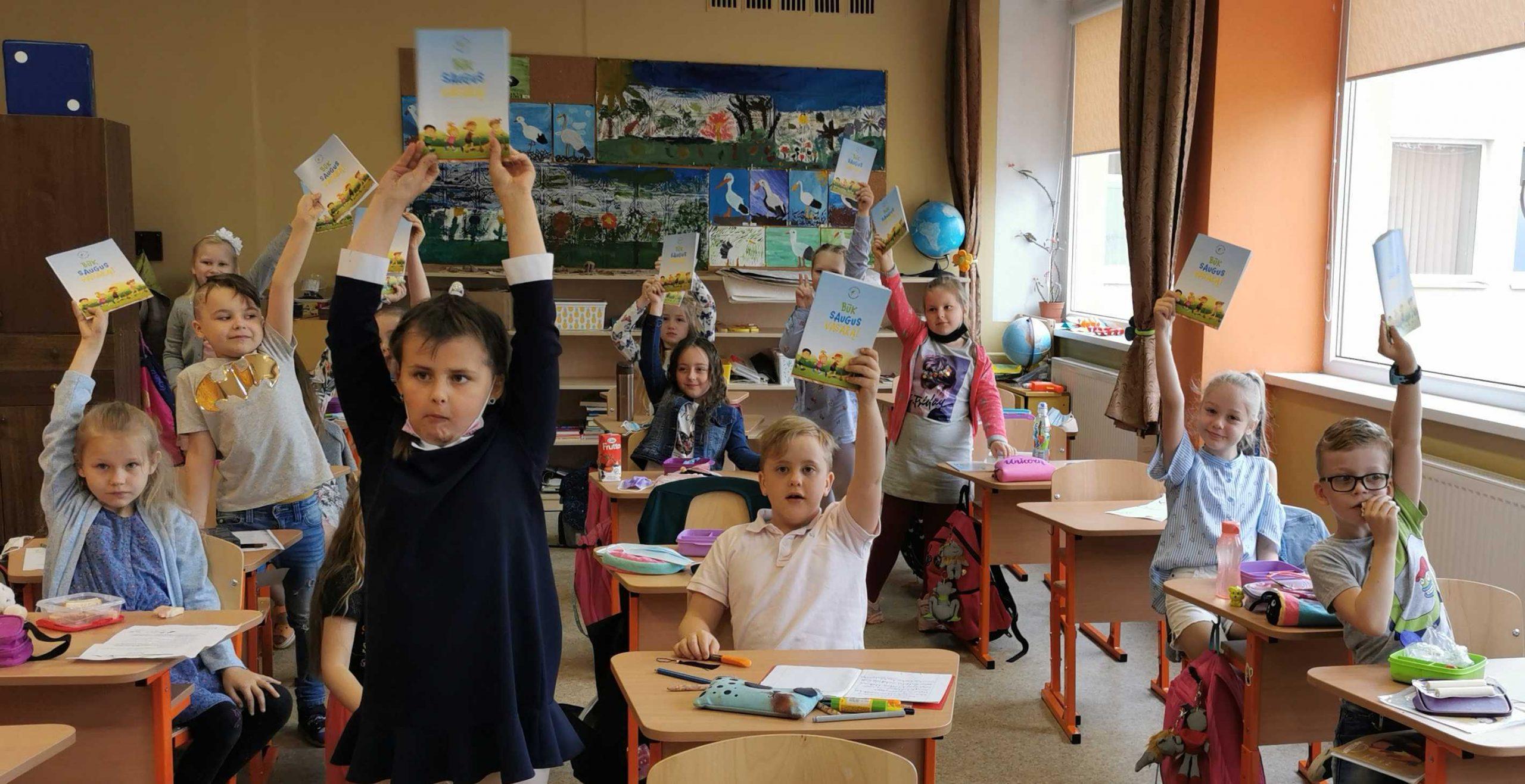 Akcija Tarptautinės vaikų gynimo dienos proga